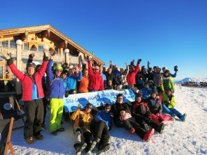 Gruppenfoto Uderns 2018 Skiclub-Horn Bad Meinberg